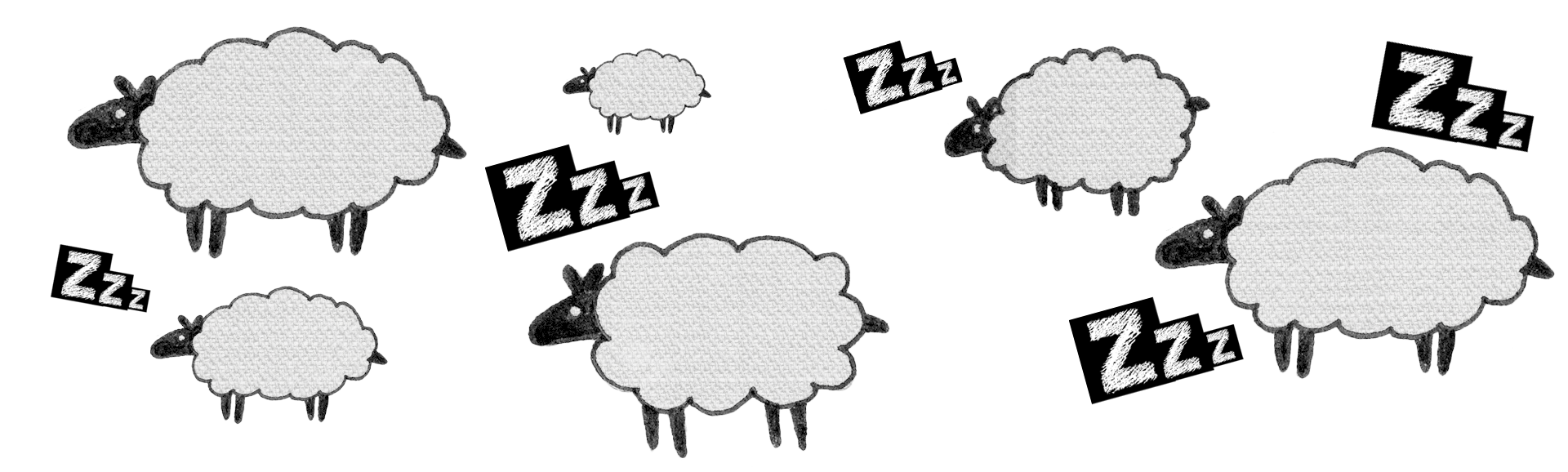 sleep sheep zzz