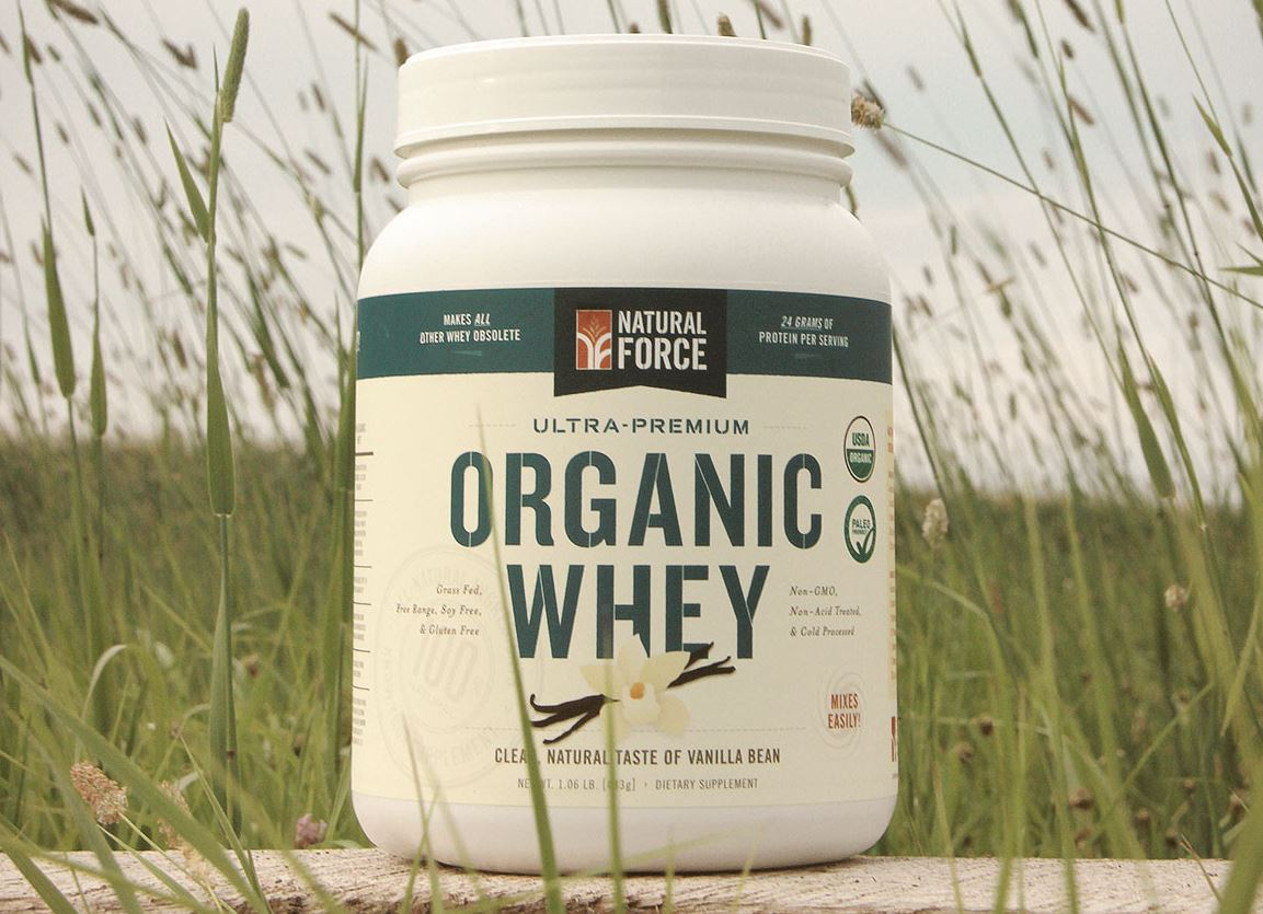 Natural Force Whey Protein Powder Review Organic Newsroom