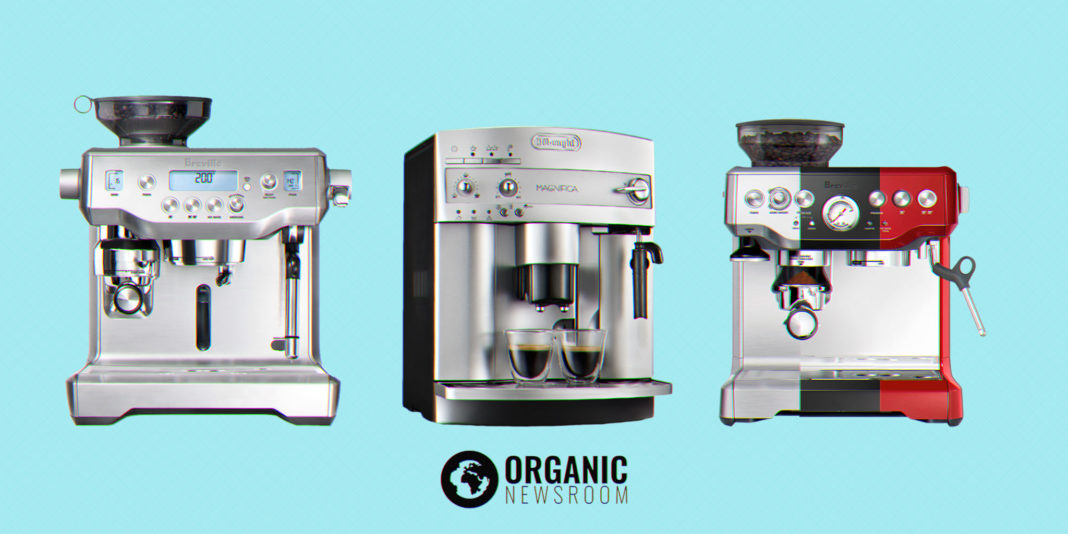 best espresso machines illustration by Organic Newsroom