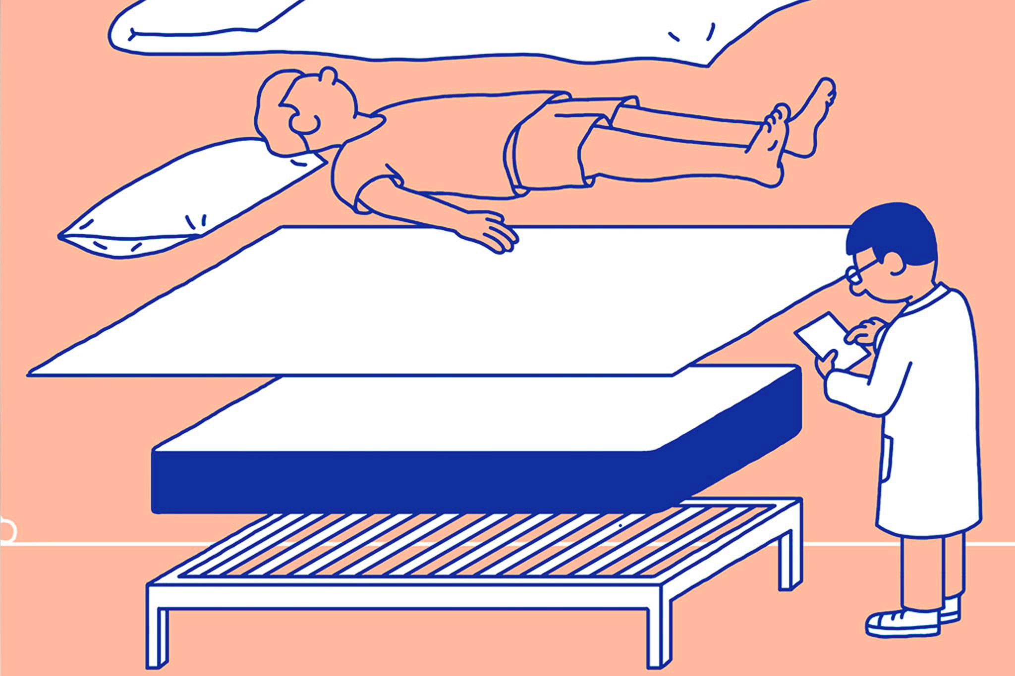Casper Mattress Illustration OrganicNewsroom