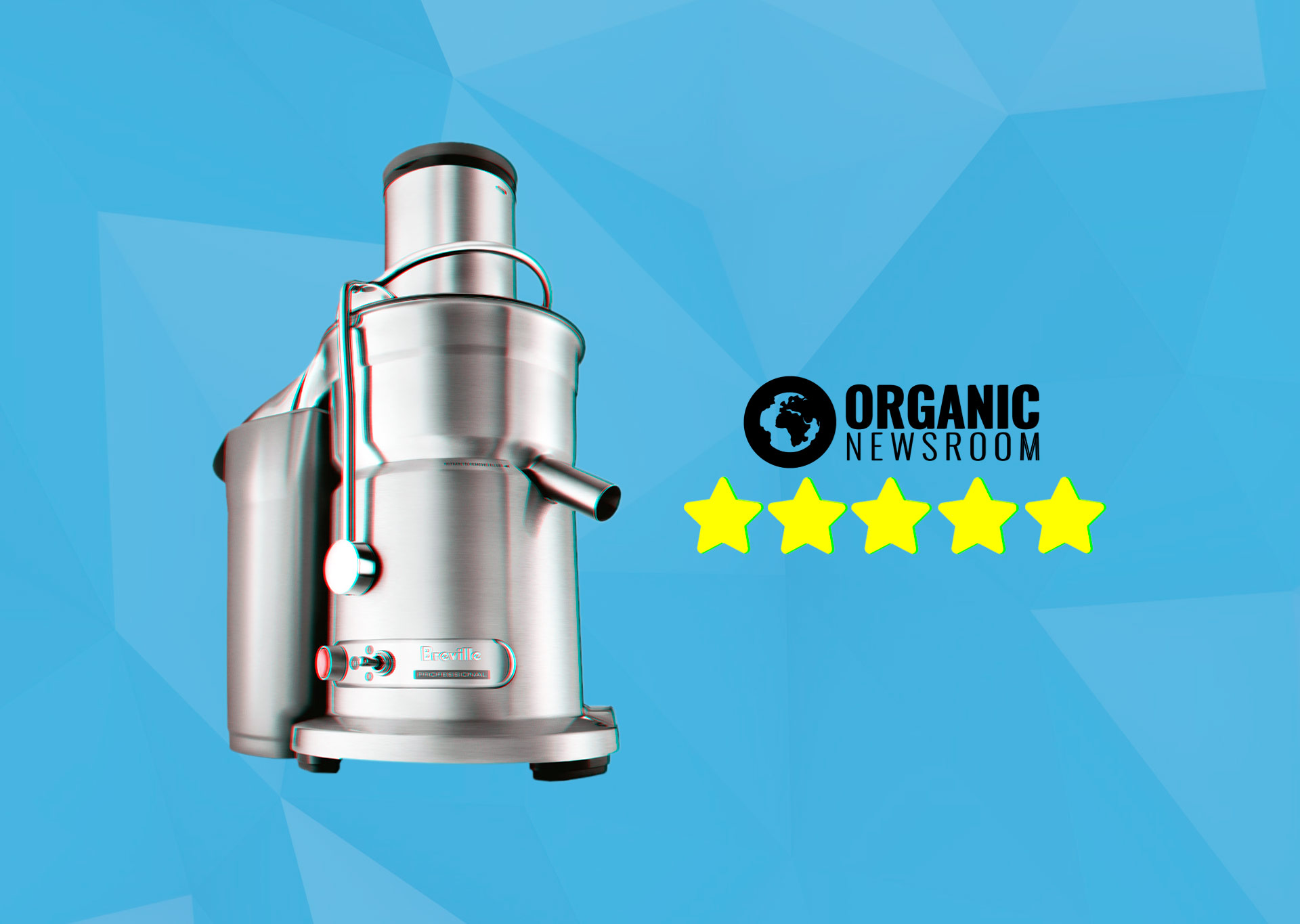 Breville Juice Fountain Elite Review Banner OrganicNewsroom