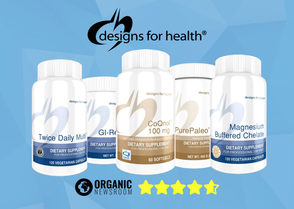 Designs for Health Supplements Review Banner