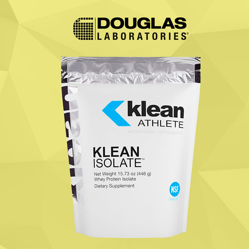 Douglas Labs' Klean Athlete Klean Whey Isolate Protein Powder