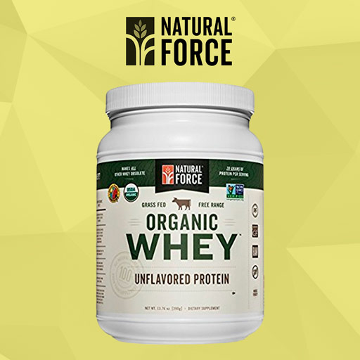 Organic Whey Protein by Natural Force