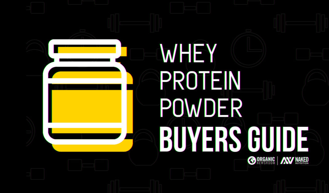 Naked Nutrition Whey Protein Buyer's Guide Featured Image Illustration