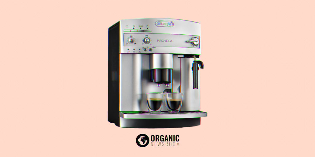 Delonghi Magnifica Home Espresso Machine Illustration by Organic Newsroom