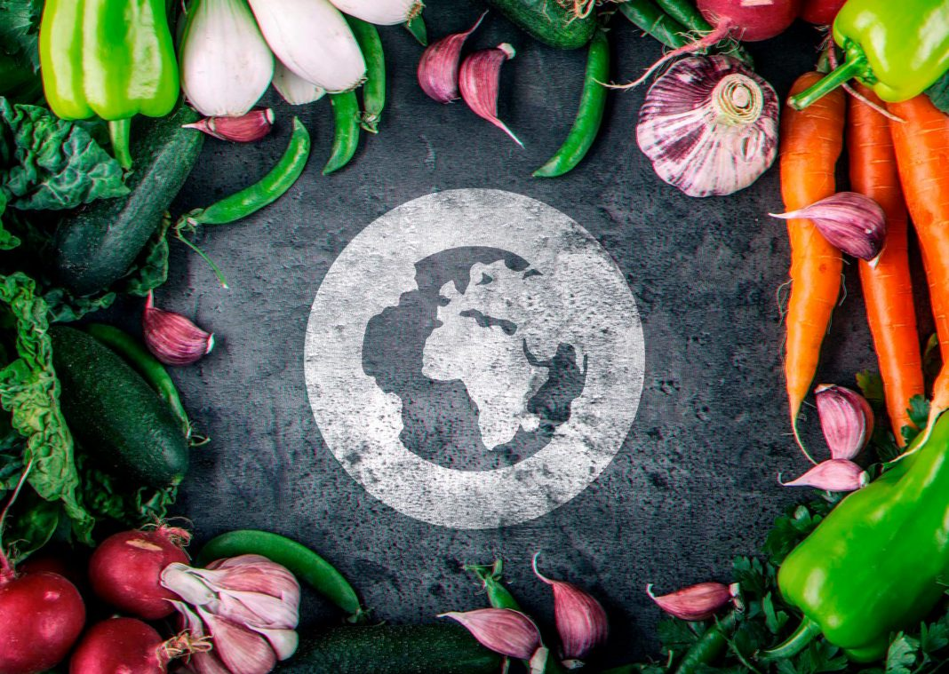 Organic Foods with Organic Newsroom Logo Icon
