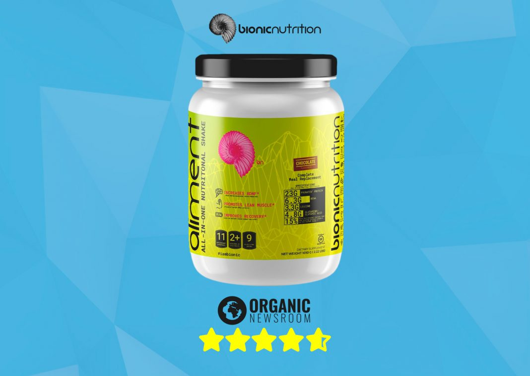 Aliment Meal Replacement Supplement Review by Organicnewsroom