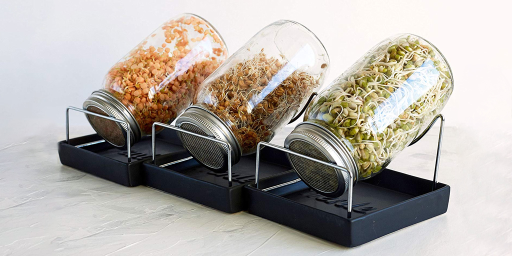 Speed Sprouting Jars by OrganicNewsroom